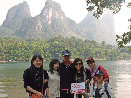 One Day Fantastic Li River Hiking Tour of VisitOurChina