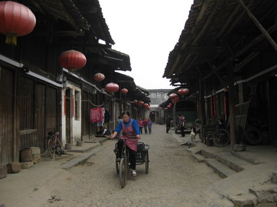 Lingering in Daxu Ancient Town