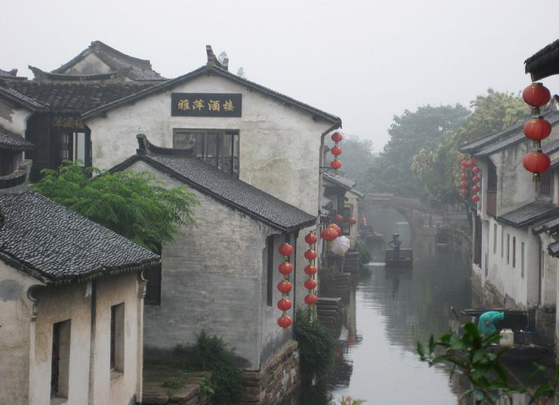 Zhouzhuang Water Town Tour with Culture & Folks Show in the Evening