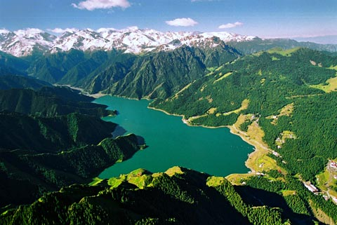 One Day Tour to Heavenly Lake with Cruise Experience