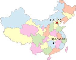 Resultado de imagem para shaoshan china