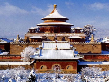 Winter View of Chengde Mountain Resort and Outlying Temples,Bishu shanzhuang,Beijing Tour