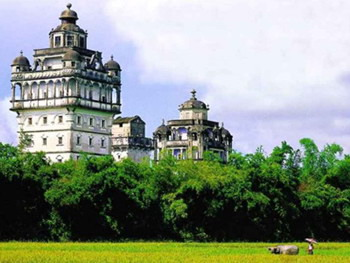 Kaiping Watchtower in Guangzhou,Guangzhou Tours,Guangzhou attraction