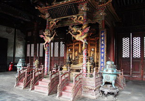 In the Qiao Family Compound of Pingyao,Shanxi Tours