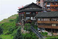 Houses of Yao and Zhuang Ethnic Tribes,Longsheng Tour,Guilin