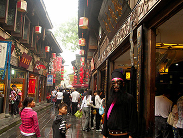 China Travel Guide, China Tours, Chengdu Tour, Jinli Old Street