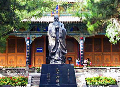 China Travel Guide, China Tours, Gansu Attraction, Confucian Temple of Gansu