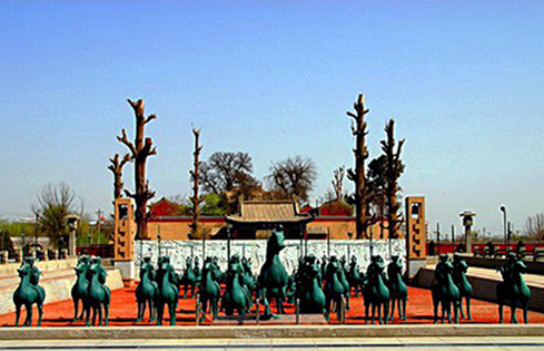 China Travel Guide, China Tours, Gansu Travel, Leitai Ancient Tombs of Han Dynasty