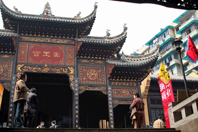 China Attraction, Chongqing Travel Guide,Huguang Assembly Hall Buiding Group of Chongqing