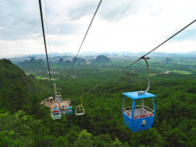 China Tour, Guilin Travel Guide, Yaoshan Mountain of Guilin
