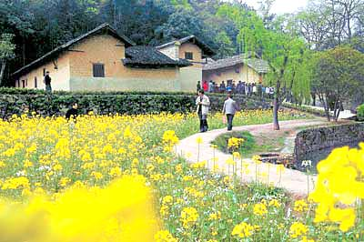 China Tour, Hunan Travel, Shaoshan of Hunan, Former Residence of Chairman Mao in Shaoshan