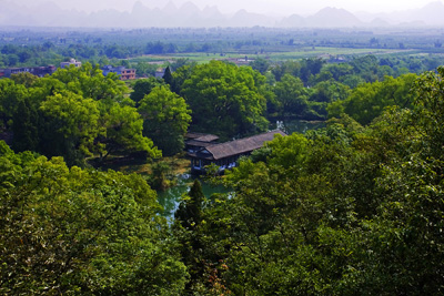 China Tours, Guilin Travel Guide, Yanshan Garden of Guilin