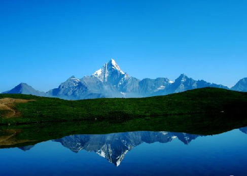 China Tours, Sichuan Tours, Sigu'niang Mountain Scenic Spot/Four Sisters Mountain Scenic Spot