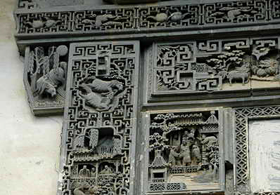 China Tours, Wuyuan Tours, Shangrao Tours, Xiaoqi Ancient Village, Stone Carving