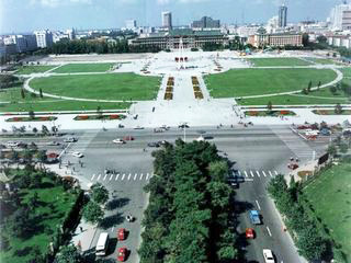 China Tours, China Travel Guide, People's Square of Changchun