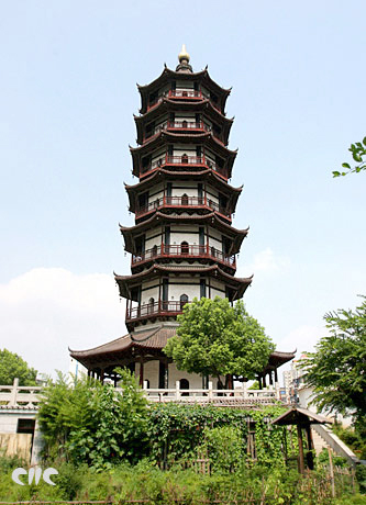 China Tours,Jiangxi Tours,Nanchang Tours,Shengjin Pagoda/Rope and Gold Pagoda