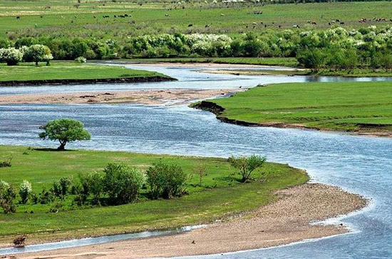 China tours,Inner Mongolia Tours,Hulunbuir Tours,Yimin River