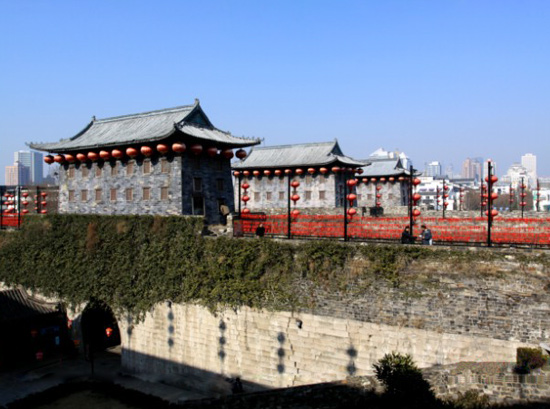 Zhonghua Gate,Nanjing Tours,Jiangsu Tours,China Tours