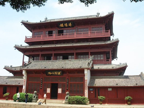 Xunyang Tower,Jiujiang Tours,Jiangxi Tours,China Tours