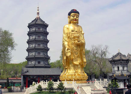 China Tours, China Travel Guide, Harbin Attractions, Seven-tiered Buddhist Pagoda