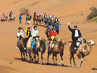 Shapotou,Silk Road Tours,Ningxia Tours,China Tours