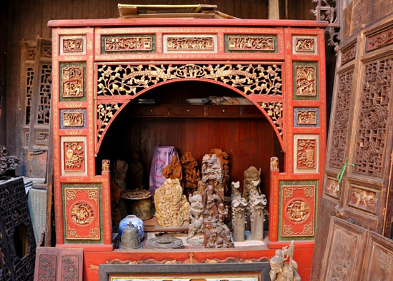 Wood Carving,Hongcun Ancient Village,Yellow Mountain,Huangshan Tours,China Tours