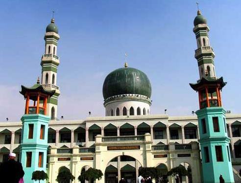 Dongguan Mosque,Xining Attractions,Qinghai Tours,China Tours