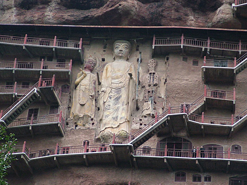 Maiji Grottoes,Maiji Mountain,Tiangshui Atractions,Qinghai Tours,China Tours