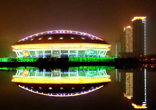 Beautiful Luoyang night scene