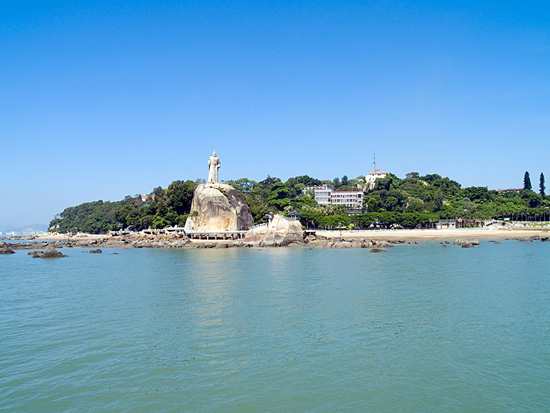 The Gulangyu (Isle of Blown Waves) is a must-see in Xiamen.