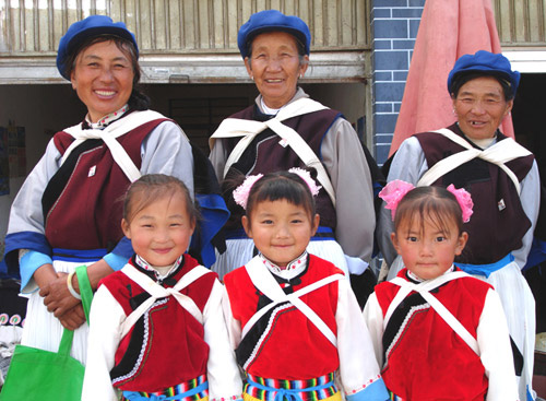 Naxi People is one of the ethnic minority groups living in Yunnan.