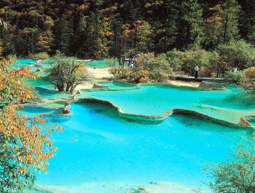 UNESCO-ranked natural site - Jiuzhaigou