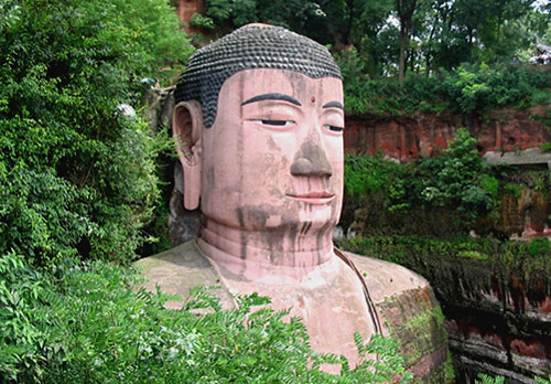 Leshan Giant Buddha is hailed as a large-scale masterpiece defying natural laws.