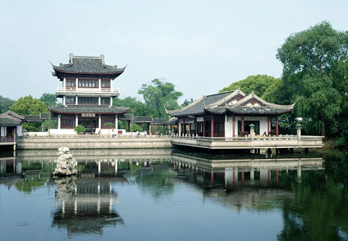 Suzhou is famous for its beautiful lake and garden.