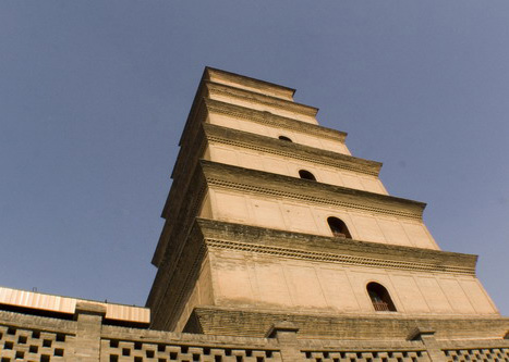 The Big Wild Goose Tower is another must-see in Xi'an.