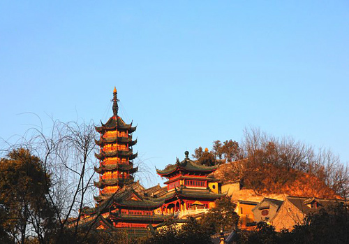 Jinshan Temple,Jinshan Mountain,Zhenjiang Attraction,Zhenjiang Tours,Jiangsu Tours,China Tours