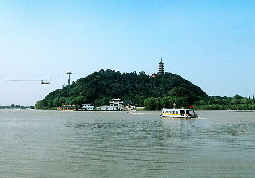Jiaoshan Mountain,Zhenjiang Atrraction,Zhenjaing Tours,Jiangsu Tours,China Tours