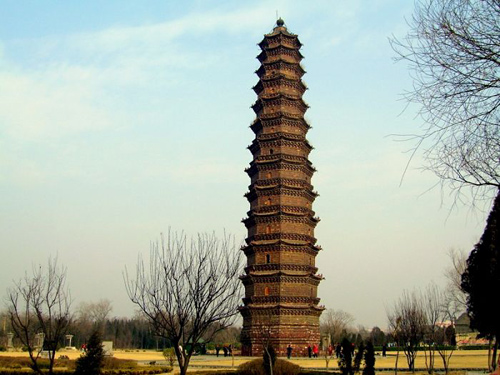 Iron Pagoda,Kaifeng Attraction,Kaifeng Tour,Henan Tours,China Tours