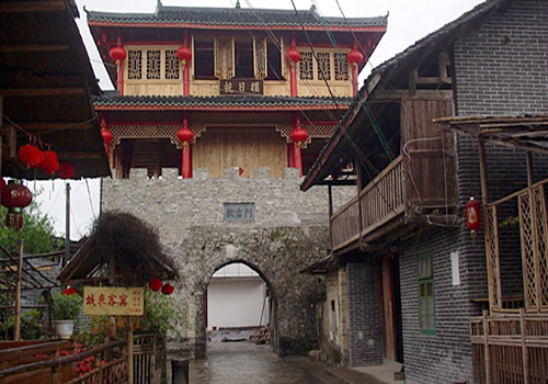 The East Gate of Danzhou Ancient Town