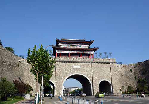 Nanjing City Wall,Nanjing Attraction,Nanjing Tours,China Tours