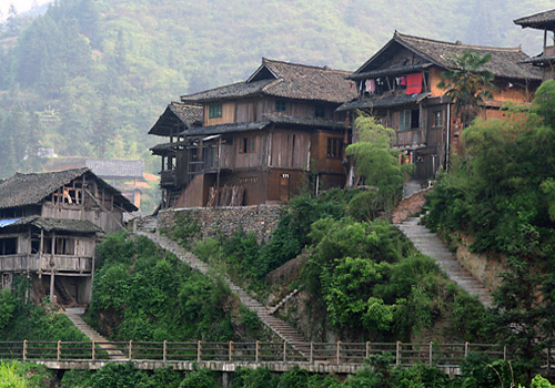 Dong Minority Villages,Sanjiang Attractions,Liuzhou Tours,China Tours