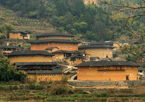 Tianluokeng Tulou,Xiamen Attractions,Fujian Tours,China Tours