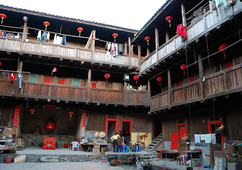 Tianluokeng Tulou was Built in Great Practicality.