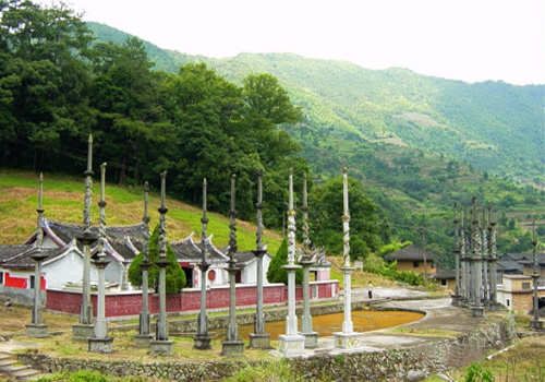 Zhang's Clan Ancestral Hall in Taxia Village