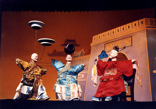 Puppet Show in Hi Heaven,Xiamen Attraction
