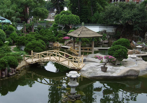 Shuzhuang Garden is A Private Villa Built in Southern Garden Style.