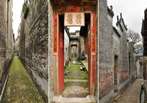 The Jiangtou Ancient Village is the hometown of many officials in ancient China.