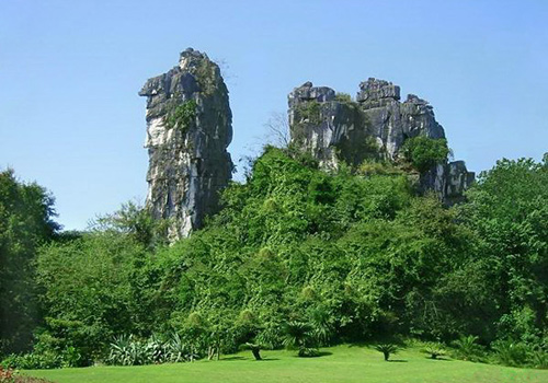 The Camel Hill in the Seven Star Park,Guilin