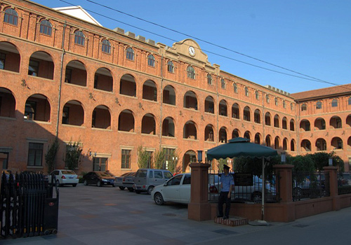 The Italian barracks in the Old Concession in Tianjin.