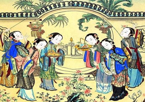Yangliuqing New Year's Painting boasts for its distinctive art features,Tianjin